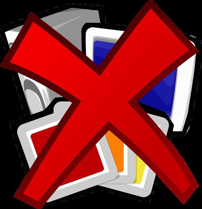 Free Vector Graphic Delete Remove Program Free Image