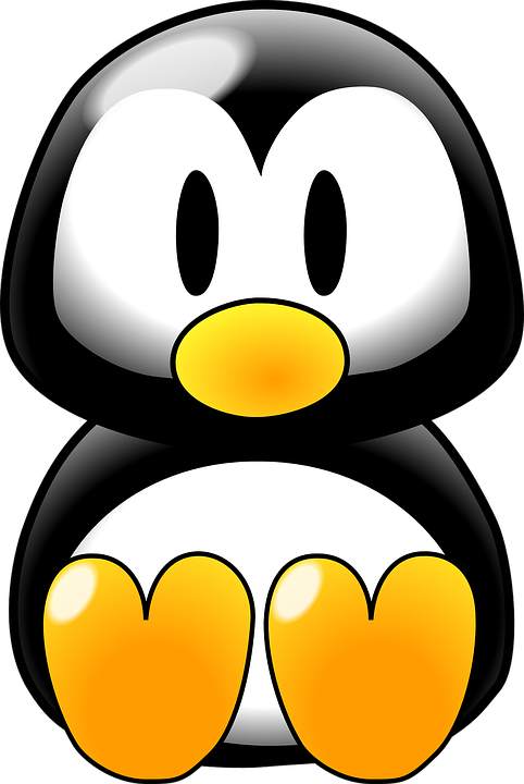 Penguin Baby Linux Free Vector Graphic On Pixabay