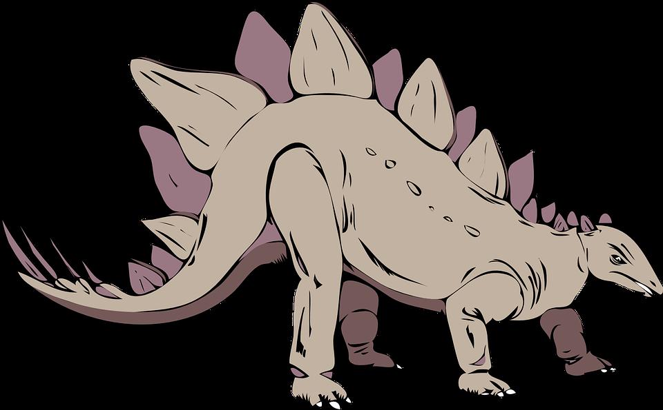 Stegosaurus, Dinosaurio, Antigua, Extinto, Prehistórico
