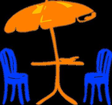 Parapluie, Chaises, Meubles, Relaxation