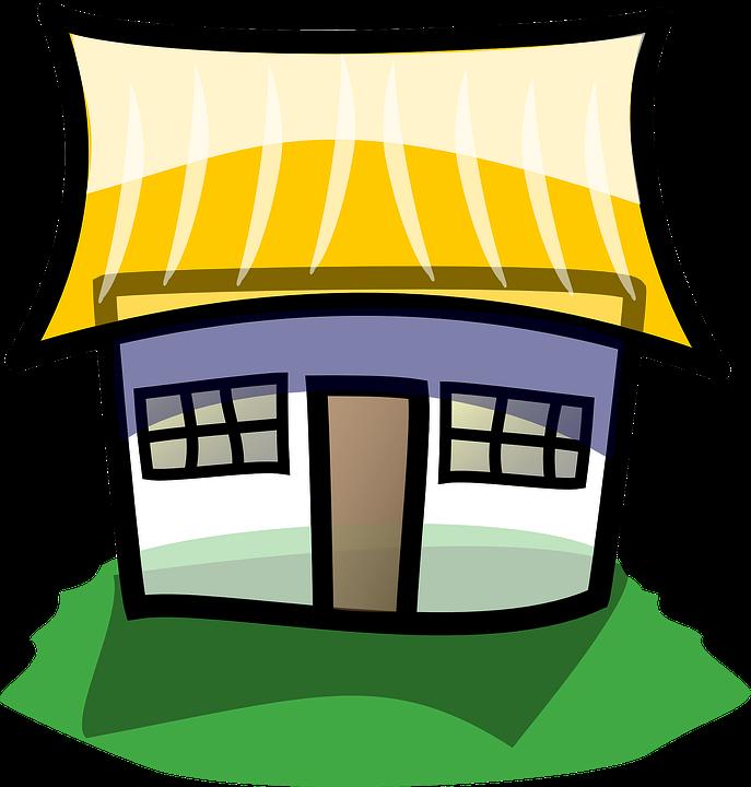 Bangunan Rumah Pondok Gambar vektor gratis di Pixabay