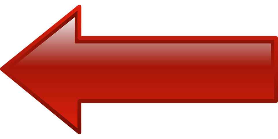 Arrow Left Pointing - Free vector graphic on Pixabay