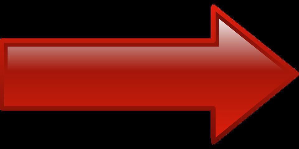 Sağ Ok Red - Pixabay