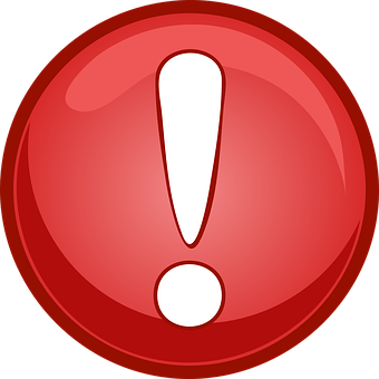 Warnung, Button, Gefahr, Vorsicht