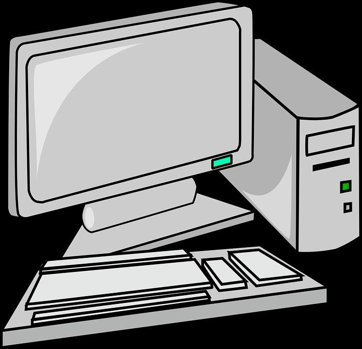 Koleksi 9400  Gambar Animasi Komputer Hitam Putih  Paling Baru