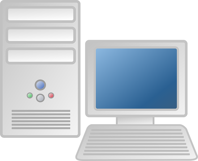 Contemporary Cappuccino Connect It Computer: Computer Workstation Desktop · Free Vector Graphic On Pixabay