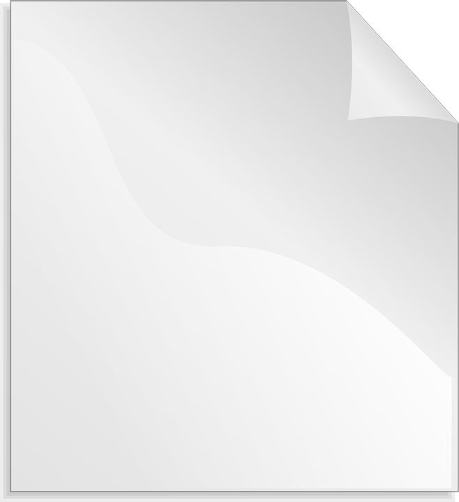 Paper Sheet White 183 Free Vector Graphic On Pixabay