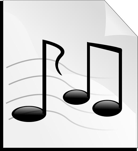 Muzik Notalari Ses Sarkilari Pixabay Da Ucretsiz Vektor Grafik