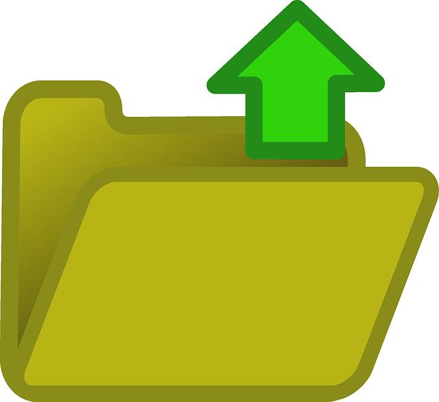 Upload Uploading Documents - Free vector graphic on Pixabay