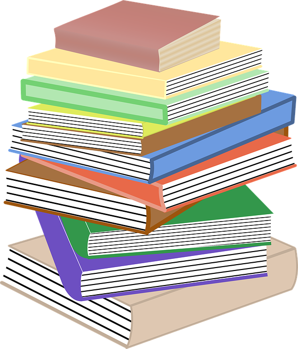 books stacked pile free vector graphic on pixabay books stacked pile free vector