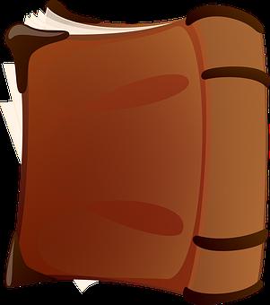 Livre, Dur, Couverture, Brown