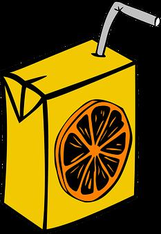 Juice, Box, Carton, Juice Box