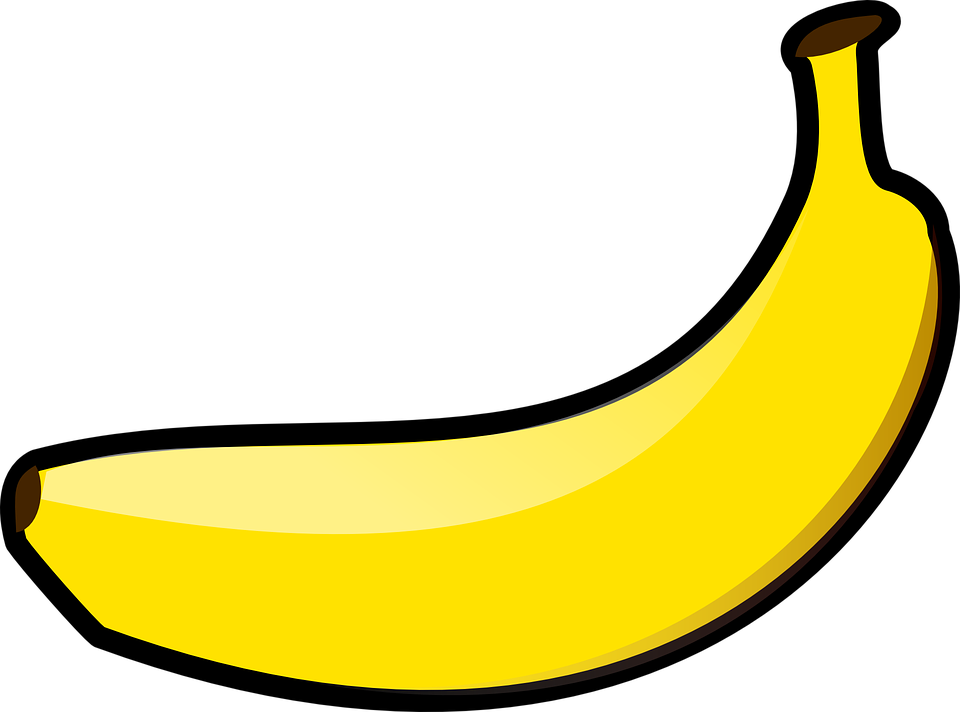 Free vector graphic: Banana, Yellow, Fruit, Isolated - Free Image ...