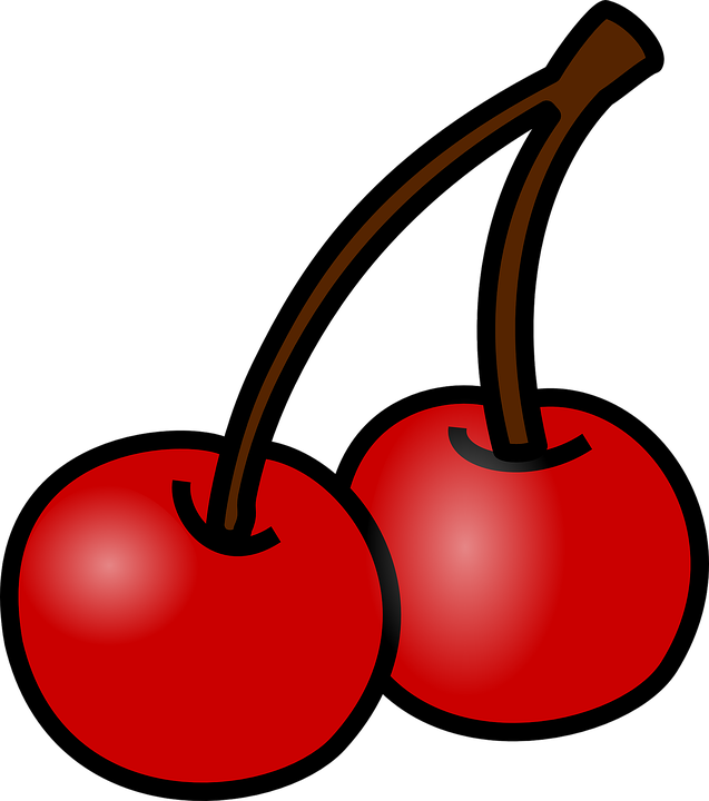 Cherries Fruit Red · Free vector graphic on Pixabay