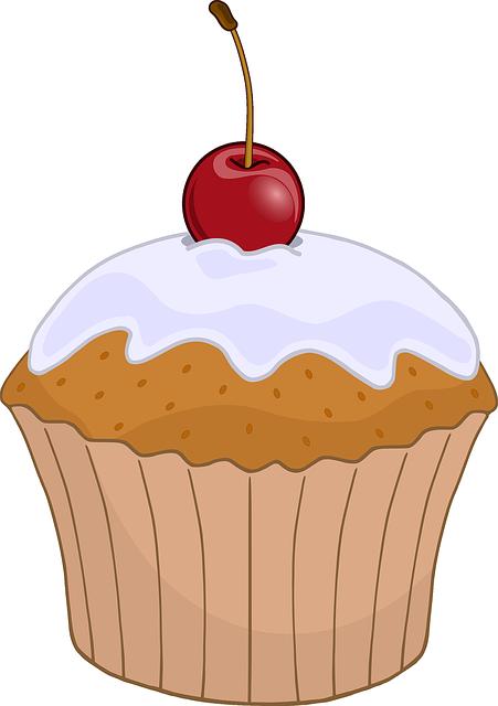 Free vector graphic: Cupcake, Dessert, Swet, Cherry, Red ...