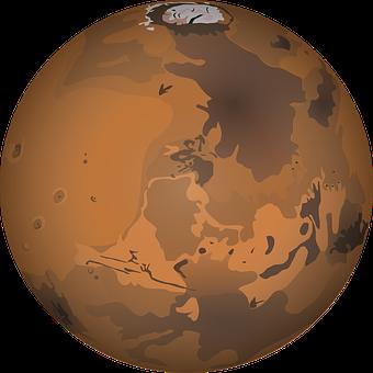 Mars, Planet Poles