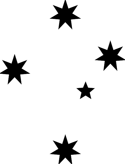 stars black silhouette  u00b7 free vector graphic on pixabay