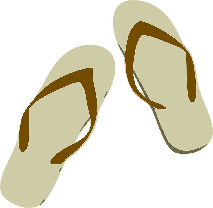 a850bff3b778 Flip Flops Sandals Footwear - Free vector graphic on Pixabay
