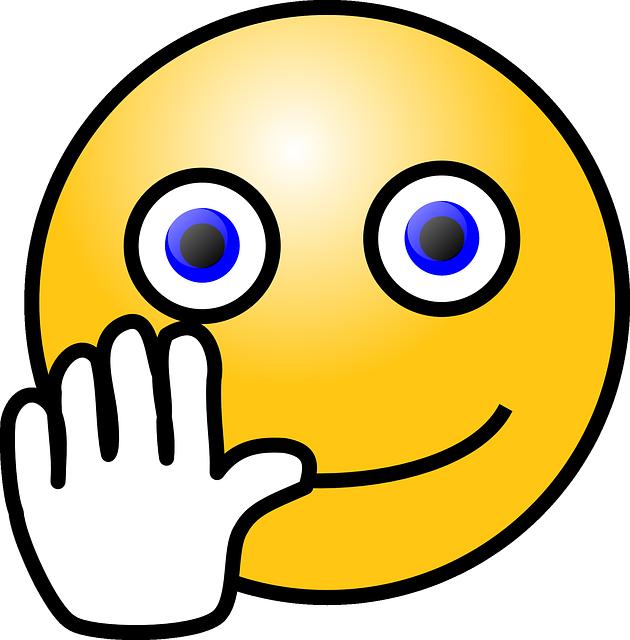 Emoticon Smiley Waves · Free Vector Graphic On Pixabay
