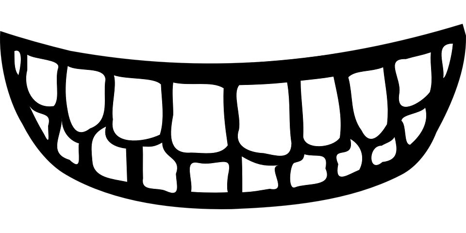 Lips Black And White Mouth Clipart Black And White - Cartoon Smile - Free  Transparent PNG Clipart Images Download