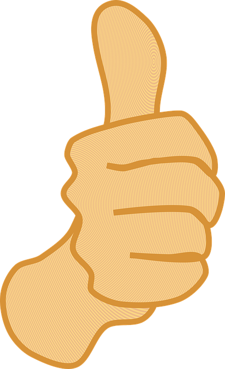 Free Vector Graphic Thumbs Up Thumb Yes Success