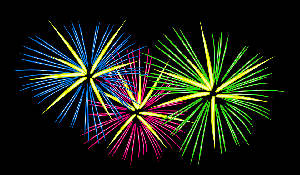 Fuegos Artificiales Festivo Graficos Vectoriales Gratis En Pixabay