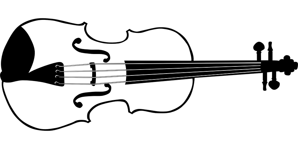 violin instrument fiddle · free vector graphic on pixabay