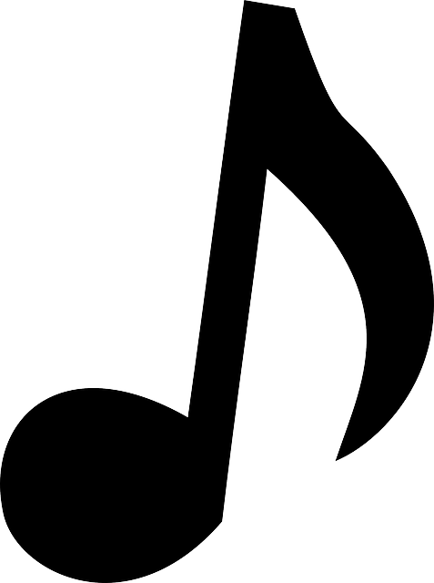 Music note quaver free vector graphic on pixabay for Note musicali dwg