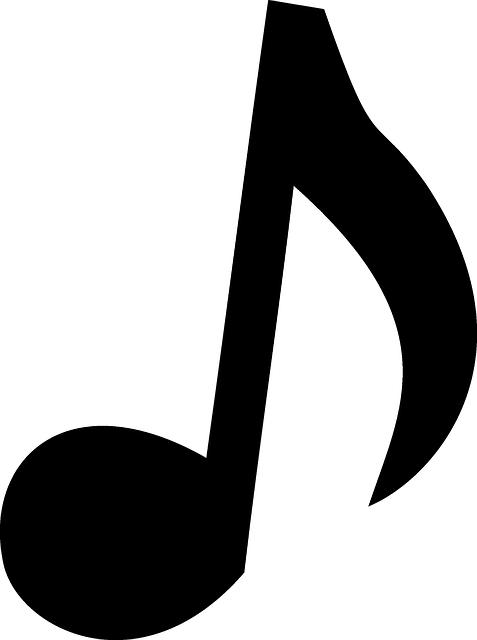 Music Note Quaver · Free vector graphic on Pixabay  Music Note Quav...