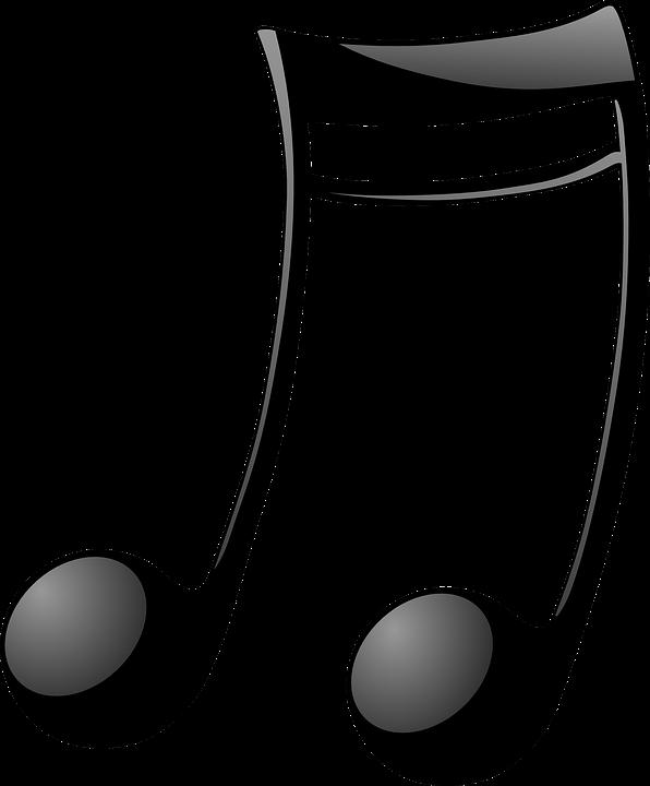 Musical Notas Com Vigas Grafico Vetorial Gratis No Pixabay