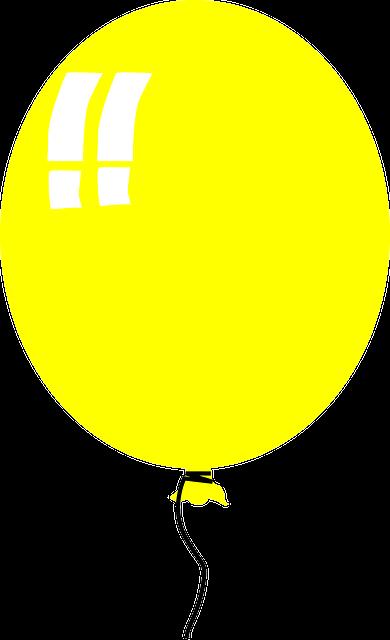 Шарик желтый картинки для детей