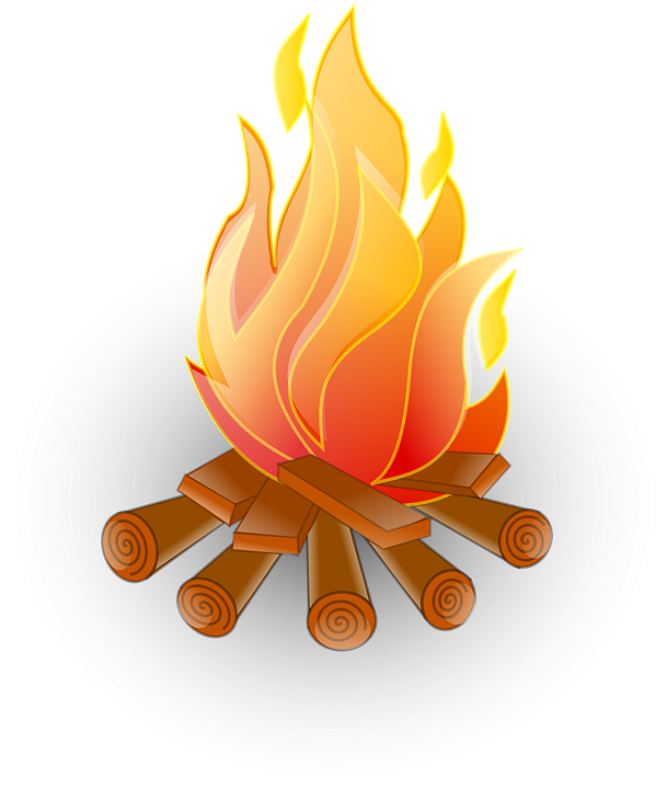 Fire Recreation Flame · Free vector graphic on Pixabay