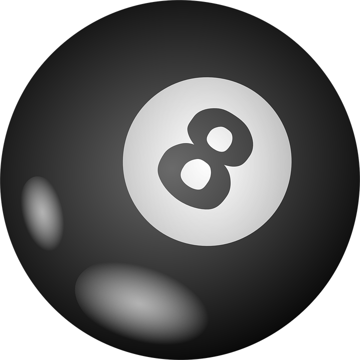 Number 8 ball stock photo. Image of circle, symbol, closeup - 7225128