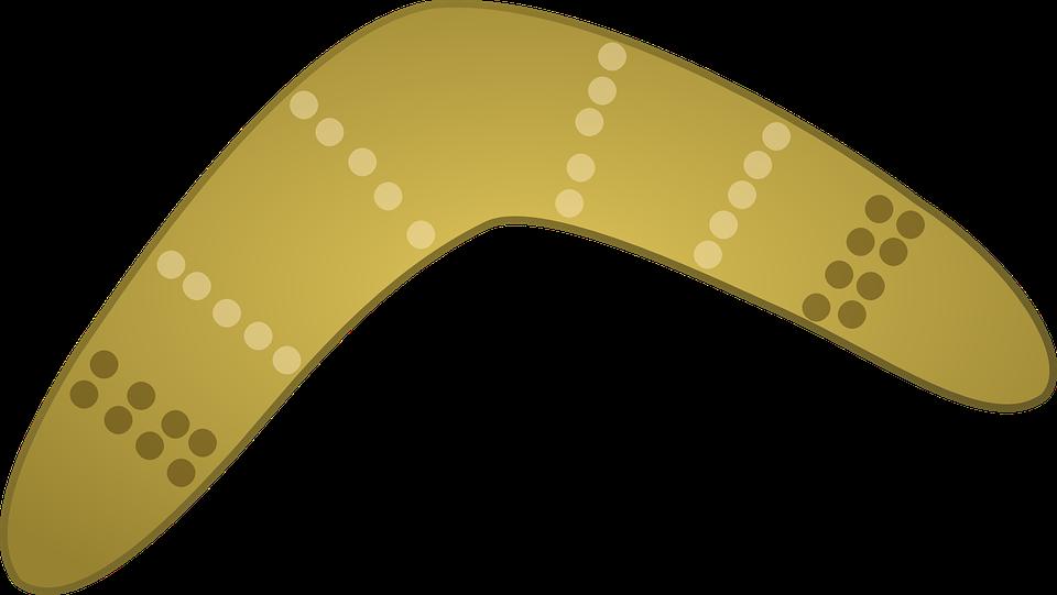 Free Vector Graphic Boomerang Aboriginal Weapons Free