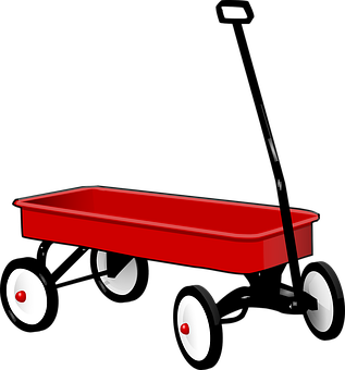 Pull, Wagon, Trolley, Pulling, Cart