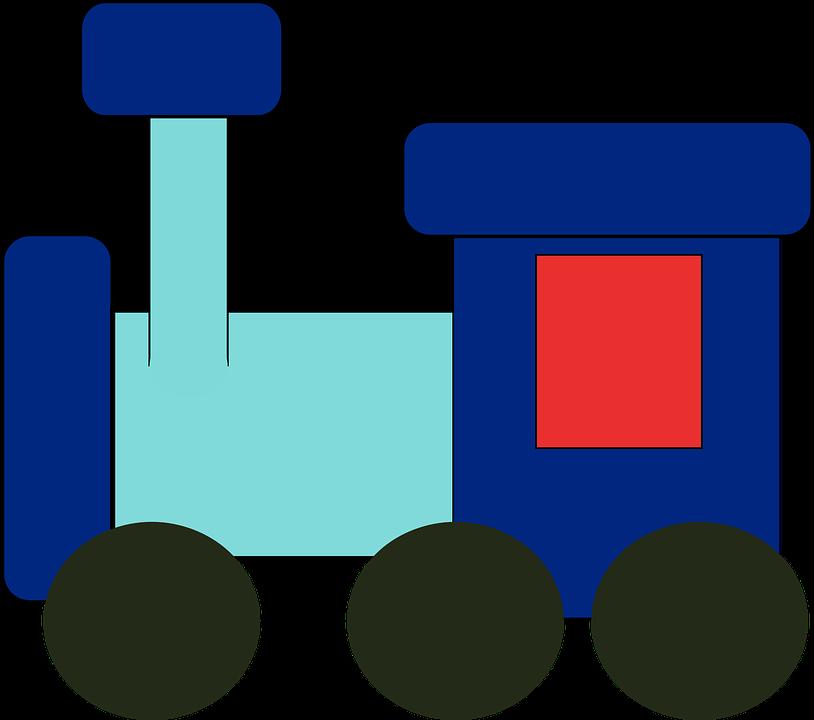 Mainan Kereta Api Biru Masa Kanak Gambar Vektor Gratis Di Pixabay