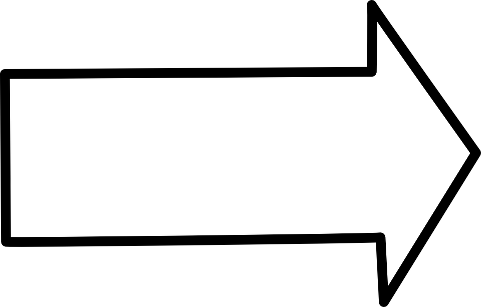 Arrow Right Shape - Free vector graphic on Pixabay