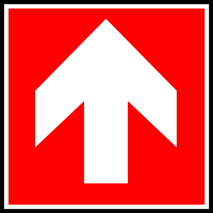 Arrow Up Sign Free Vector Graphic On Pixabay