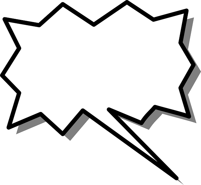 free vector graphic  speech  bubble  burst  shape
