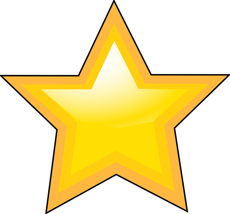 Star Shape Geometry Free Vector Graphic On Pixabay
