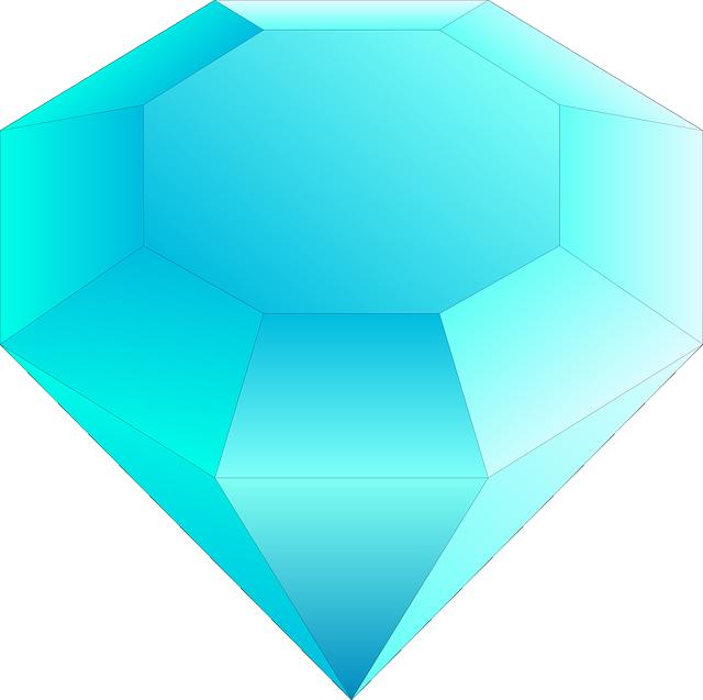 Gambar vektor gratis: Batu Permata, Berlian, Biru - Gambar ...