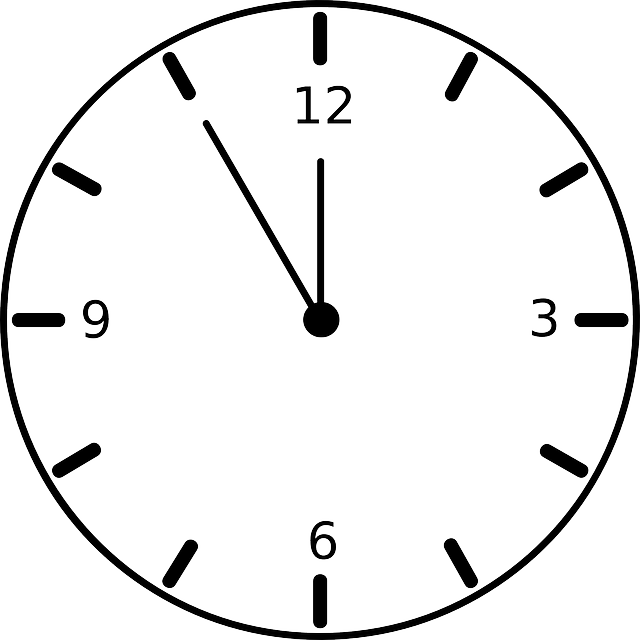 Clock Timer Face 183 Free Vector Graphic On Pixabay