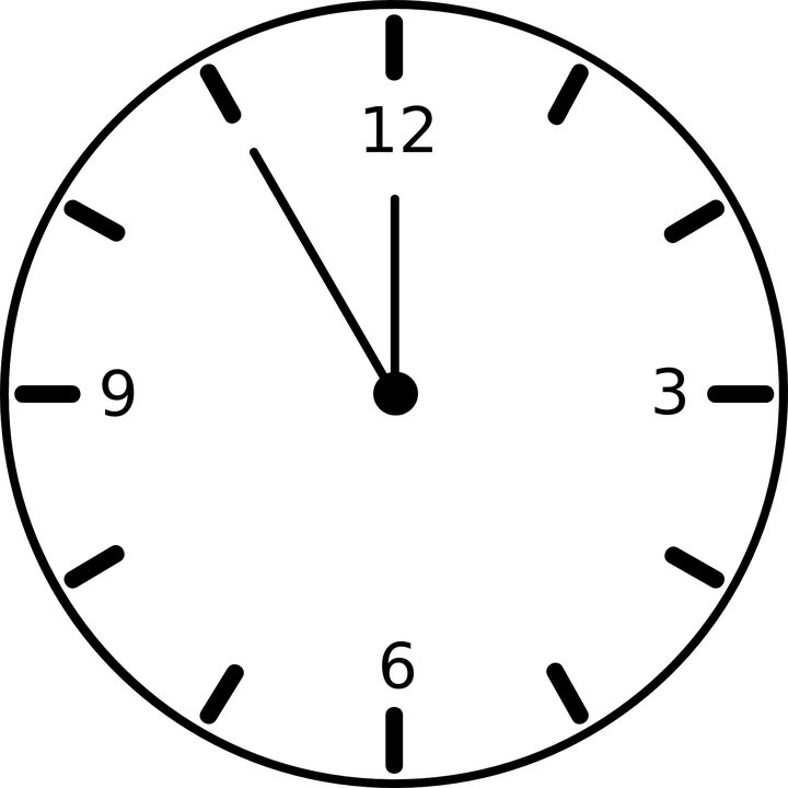 clock timer face free vector graphic on pixabay