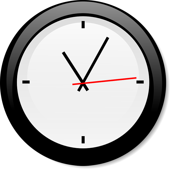 clock timer ticking free vector graphic on pixabay