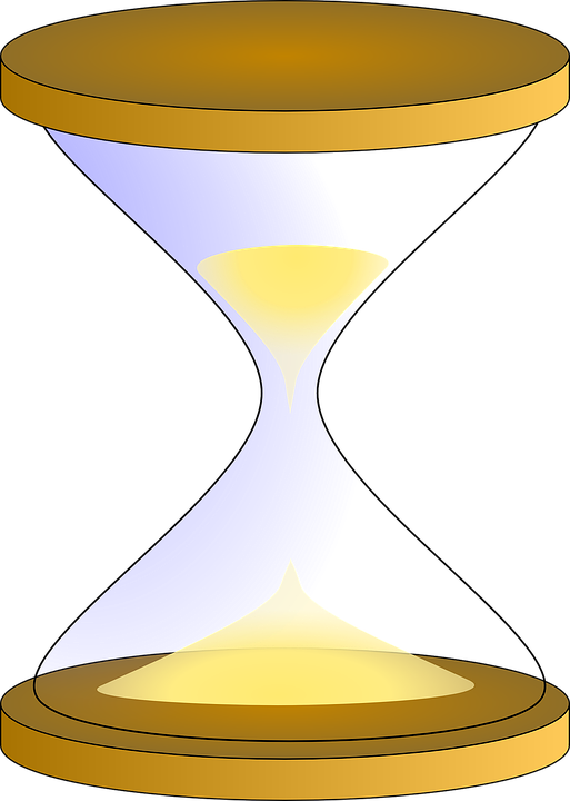 Hourglass Hour Glass Free Vector Graphic On Pixabay