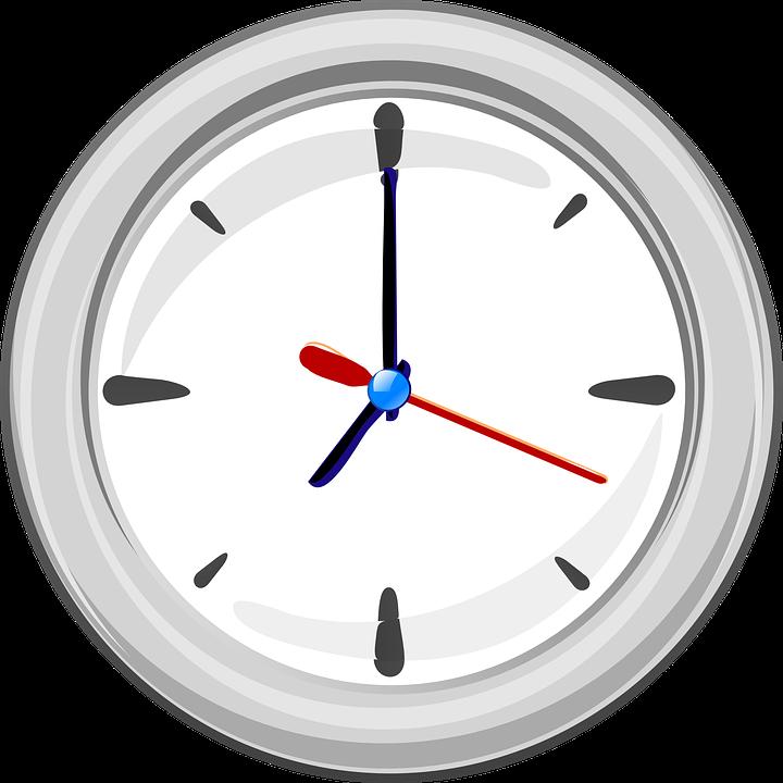 orologio animato