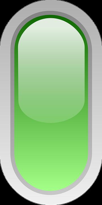 bulat hijau dipimpin tanda gambar vektor gratis di pixabay bulat hijau dipimpin tanda gambar