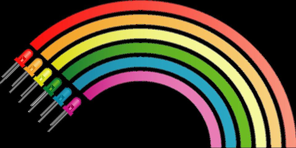 Regenbogen Farben Elektronische Kostenlose Vektorgrafik Auf Pixabay