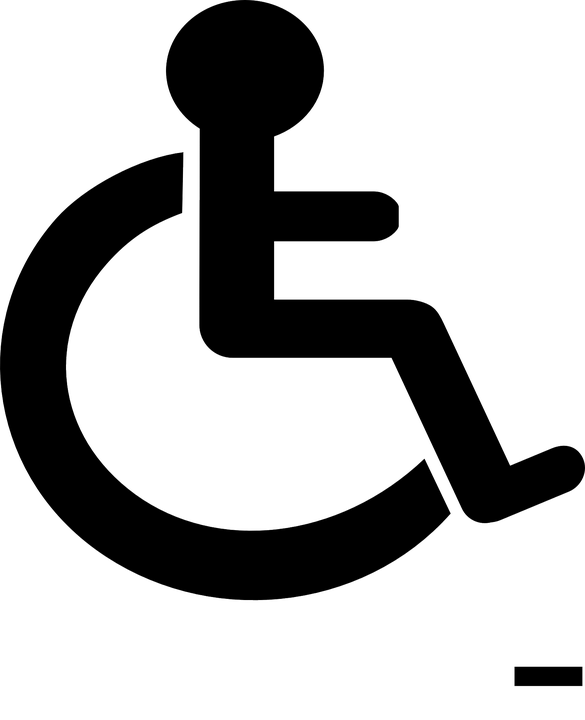 wheelchair sign handicap free vector graphic on pixabay rh pixabay com handicap vector logo handicap vector icon