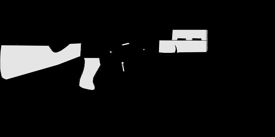 Fuzil De Assalto Arma Automatica Grafico Vetorial Gratis No Pixabay